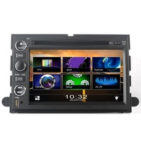 For Ford Explorer Touch Screen Car DVD GPS Navigation Build-In Bluetooth,Radio with RDS,Analog TV, AUX USB, iPod Controls,