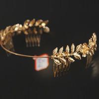 European and American fashion retro flower headdress hair accessories metal hair bands