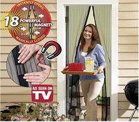 Fly Screen Door Magnetic Stripe Mesh Prevent Mosquito Door Curtain Mosquito Net Size 100x210cm  M1411