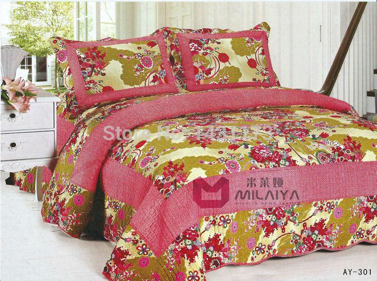 cor múltipla [ ay301 ] 100% de qualidade da cama colcha de algodão verão ar condicionado consolador interior para a seleção(China (Mainland))