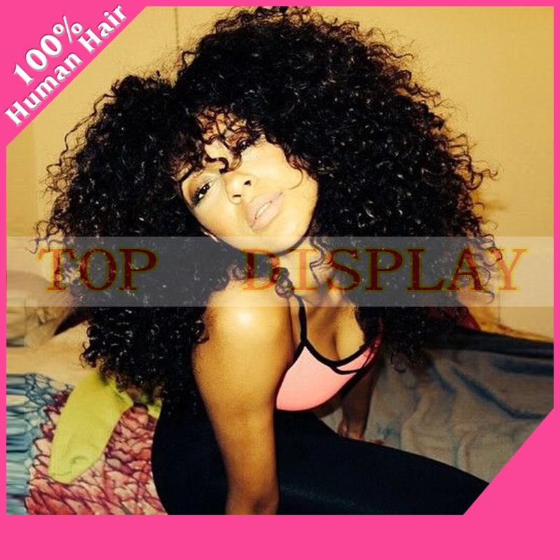 Virgin Brazilian Curly Hair Wigs 33