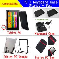 Q8H A23 Dual core Bluetooth tablet pc + 1pcs*Keyboard Case + 1pcs*Stands + 1pcs*Bag
