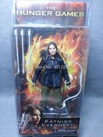 "RARE! NEW NECA 2012 THE HUNGER GAMES Series 1 Katniss Everdeen 7"" Action Figure"