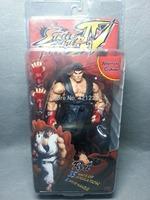 "RARE!! NEW NECA Street Fighter 4 Ryu Alternate Costume Action Figure 7"""
