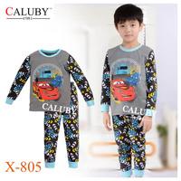 Boys Girls Santa's Elk Pajamas Sets Kids Autumn -Summer Clothing Set New 2014 Wholesale Children Christmas Pijamas A-046