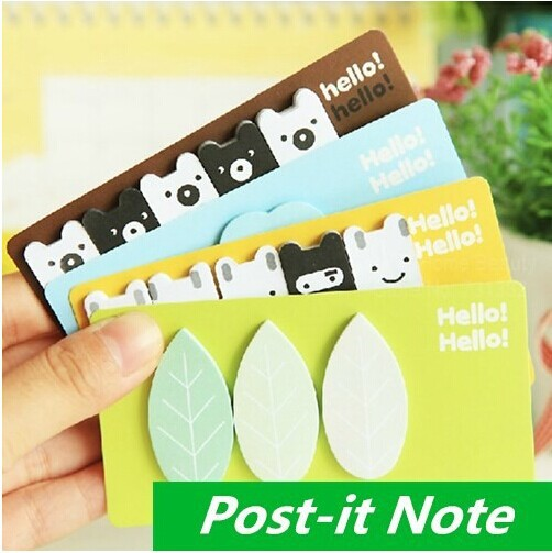 12 pcs/Lot Forest story Post it notes Sticky note Memo pad stickers Notepad kawaii korean stationery office School supplies(China (Mainland))
