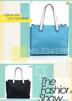 best sale free shipping candy color Women Handbag business genuine Leather totes bags messenger bag fringe handbag