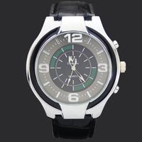 Hot Sale Black Strap  White Face Gentle Mens Teenagers Analog Quartz Xmas Gift Brand Sport Wrist Watches Hours Clocks