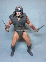 "ERROR HEAD NECA Conan The Barbarian Pit Fighter Conan 7"" Series 2 Action Figure"