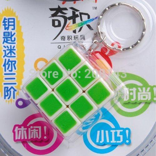 Неокубы, Кубики-Рубика QJ Qiji /3 x 3 x 3 , SingPost Mini Keychain magic cube deformed 3 x 3 x 3 centrosphore magic cube