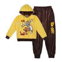 winter 2014 new kids baby ports suit hoodies coat + pants 2pcs suits spring & antumn boy clothing children tracksuit clothes set