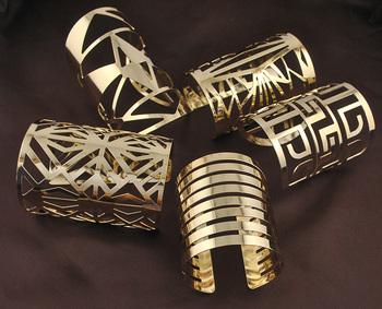 Панк стиль браслеты позолоченные геометрия из металлов браслет одежда ювелирные изделия ...