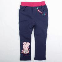 Fantasia Infantil Pants Rushed Freeshipping Loose Kids Leggings Peppa Pig Pepe 2014 Children's Wear New Girl Wholesale G4319