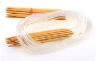 NEW 18 Set Kit (2mm-10mm) 30'' Inch (80cm) Circular Bamboo Knitting Needles AE01192