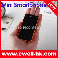two battery Melrose S1 Mini Smartphone Android 4.2 MTK6572E Dual Core 2.4 Inch IPS Dual SIM WIFI 5 Colors children phone 5C MINI