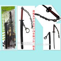 Anime Bo YingguiOkita Souji   keychain sheath buckle chain Cosplay  JP Happy birthday gift 17cm