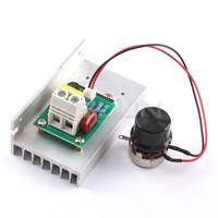 AC220V 10000W Adjustable Voltage Regulator High-Power SCR Controller for water heater/lighting/motor/electric iron etc