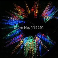 New 2014 SLI05 50 LED Colorful Ice Stick Solar String Lights luminaria solar powered innovative decoration led string lights