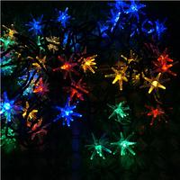 New 2014 SLBB5 50 LED Colorful Blast Ball Solar String Lights luminaria  solar powered led string lights solar powered