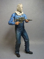 Loose NECA Cult Classics Hall of Fame Friday the 13th Part 2 Jason Voorhees Action Figure