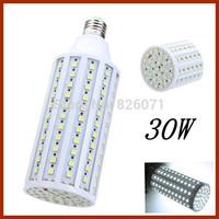 40pcs Generous fashion LED energy-saving light bulbs 30W Corn Light 165 Pearl 5050 bulb led tube with E27 lamp holder&5050 SMD