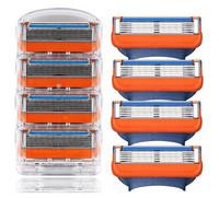 Hot Sale Best quanlity funsion 8pcs/lot men's version shaver waterproof shaving epilator for body&face razor blade