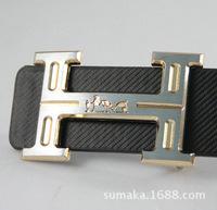 European Male Fashion Luxury Brand PU Leather Belt Letter Metal Alloy Leisure Business Leather Belts Men Female Belts Black Red