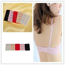 5 piezas nuevo colorido extensores de sostén correa de extensión íntimos 2 ganchos accesorios para la mujer(China (Mainland))