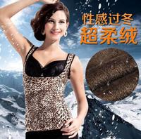 2 PCS  Women's Winter super soft warm vest warm Body Sculpting Slimming Underwear Size L-XL-XXL Free shipping L841