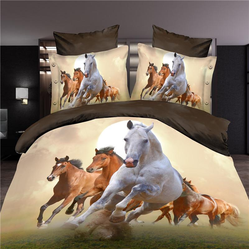 online get cheap horse bedspread alibaba group. Black Bedroom Furniture Sets. Home Design Ideas
