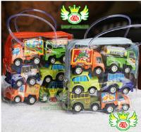 multicolor plastic mini pull back model car educational toys children free shipping new arrival promotion rushed 6pcs/lot