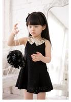 Slim cute girls clothing sweet princess lace dress