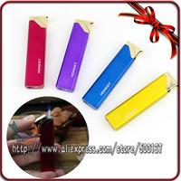 For Girl Lady Gift Jet Blue Flame Windproof Cigar Cigarette Butane Gas Lighter