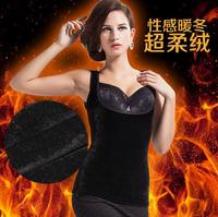 2 PCS  Women's Winter super soft warm vest warm Body Sculpting Slimming Underwear Size L-XL-XXL Free shipping L844