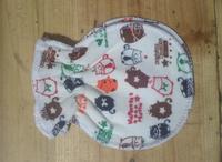 Anti catch newborn baby face gloves cotton mitts