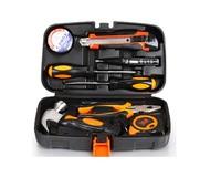 Kemai Si metal toolbox nine sets of household hand tools Tool Combo Pack Repair Tool Box Russia free shipping