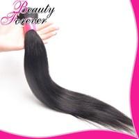Beauty Forever Hair Weaves Unprocessed Peruvian Virgin Hair 1 Bundle Up 6A Virgin Straight Peruvian Hair Extension Human BFST01