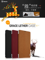 For Samsung Galaxy Tab S 8.4 T700 T705C Baseus Brand Leather Case For Samsung Galaxy Tab S  8.4 3 Fold Smart Case Holster