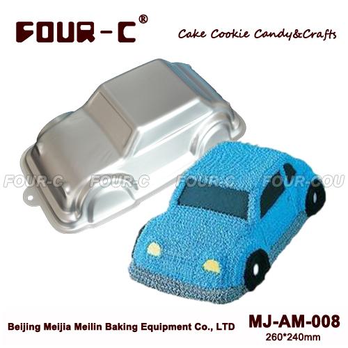 High quality Car Aluminum Baking Dish Cake Baking Pans Cake Pan Aluminum forms for cake BakewareTools Cake Tools(China (Mainland))