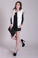 Free shipping  lovely winter fashion waistcoat fur short vest  , Super high quality fabric ,Made in  Korea