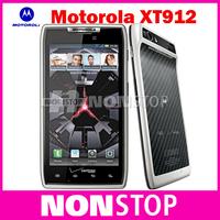 Original Motorola Unlocked RAZR XT912 / XT912 MAXX Phone Dual Core ROM 16GB Camera 8.0MP Bluetooth 4.0