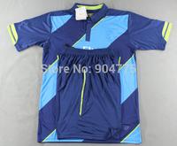 New 14 15 soccer second away blue soccer jersey thai quality football uniform designer kits sportswear soccer tracksuits for men