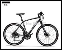 TW730 road bike,16 speed oil brake rise handlebar 700C wheel carbon recreation road mountain bike