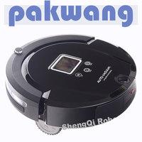 Portable electric floor vacuum cleaner