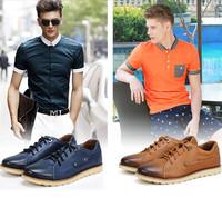 2014 Free shipping brand platform men suede leather shoes men fashion flat business shoes outdoor footwear men driving shoes