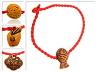 Evil transport security and peace shop small gifts this animal year hand woven Bracelet Red Rope