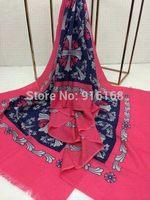 Fashion New Arrival Winter Scarf Women Silk Scarves Long Tassels Snow Print Pashmina Desigual Shawl Lady Tippet Muffler Hot Sale