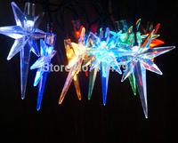 New 2014 SLTP1 10 LED Colorful The Plough Solar String Lights innovative decoration led string lights luzes de natal