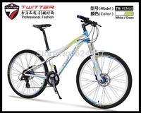 Fashion Girls mountain bike 24 speed bicycle for women oil brake TWITTER-VENUS mountain bike