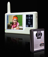 "3.5"" wireless colour video door phone 1 to 1 with night vision"